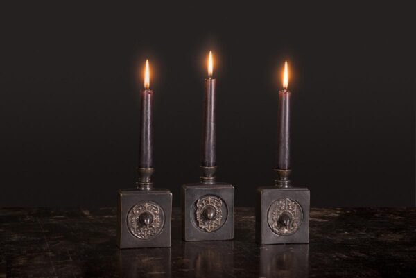 The Swift candleholder made from solid bronze
